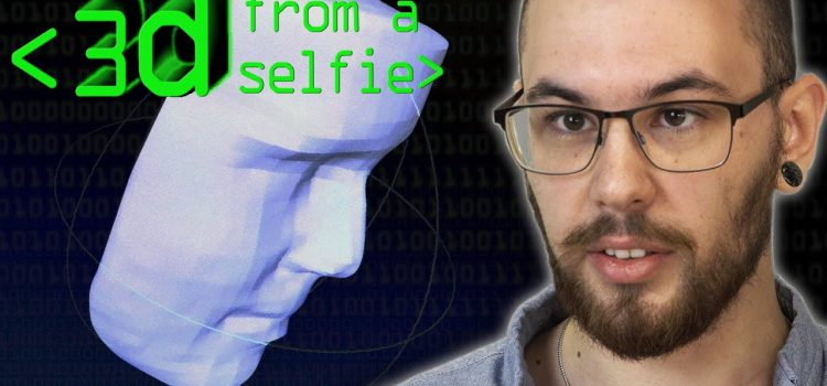 Building a 3D Model from a Selfie
