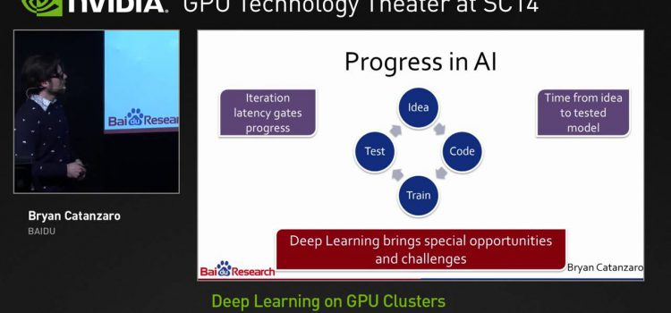 Deep Learning on GPU Clusters