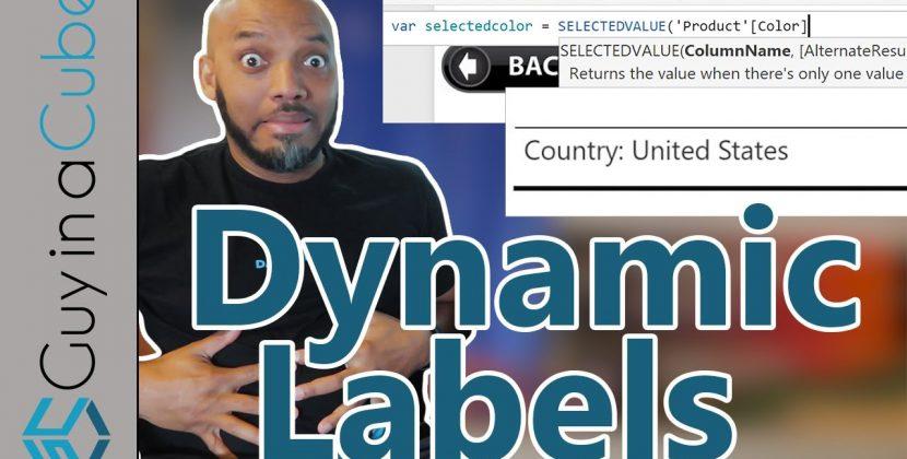 Dynamic Labels in Power BI Using DAX
