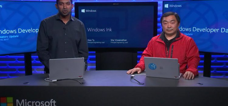 Windows Ink Session from Windows Developer Day