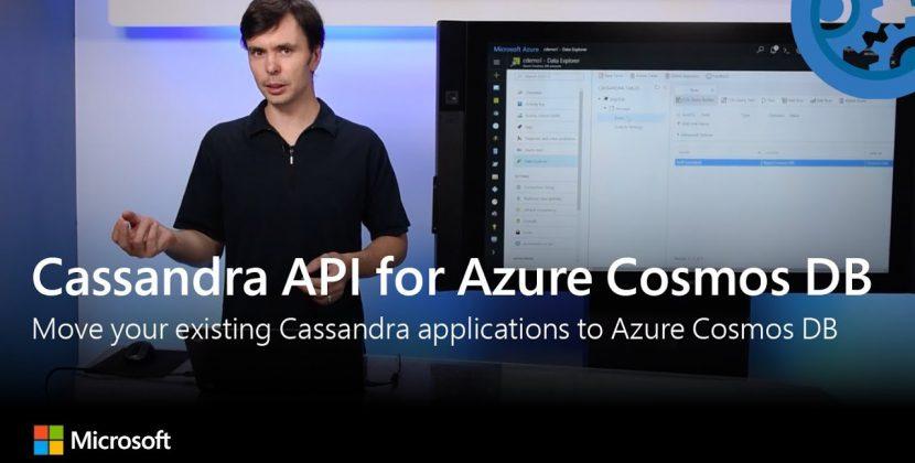 New Cassandra API for Azure Cosmos DB