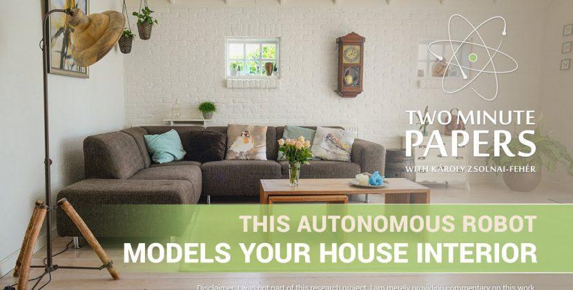 Autonomous Robot That Models Your Home Interior
