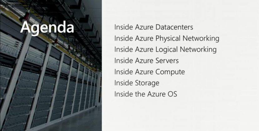 Mark Russinovich Explores Azure Data Center Hardware and Software Architecture