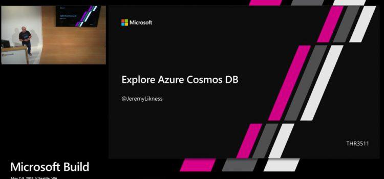 Explore Azure Cosmos DB