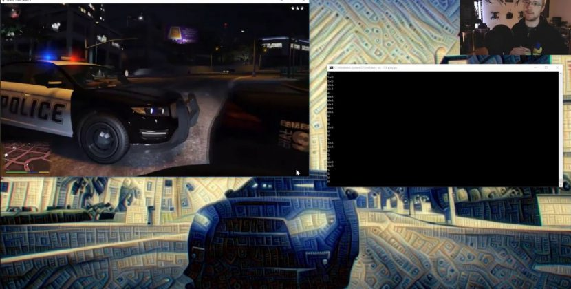 Using GTA V to Train a Self-Driving Car AI