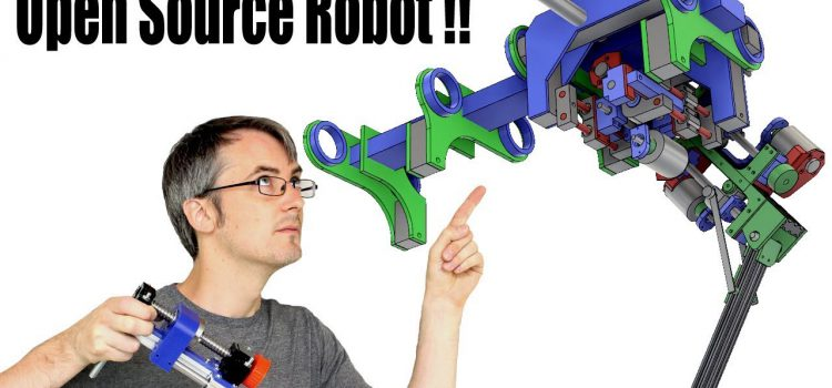 Meet the Open Source Robot Dog: openDog