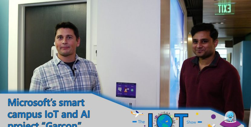 Project Garcon: Microsoft's Smart Campus IoT and AI