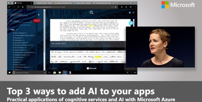 AI and the top 3 ways to adopt it in your Apps using Azure