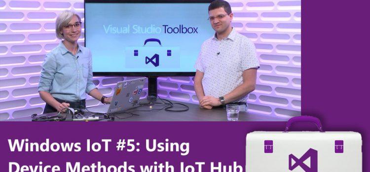 Using Device Methods with IoT Hub