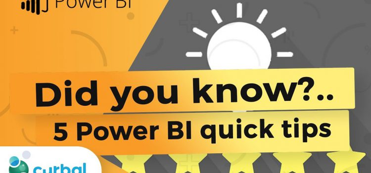 5 PowerBI Tips