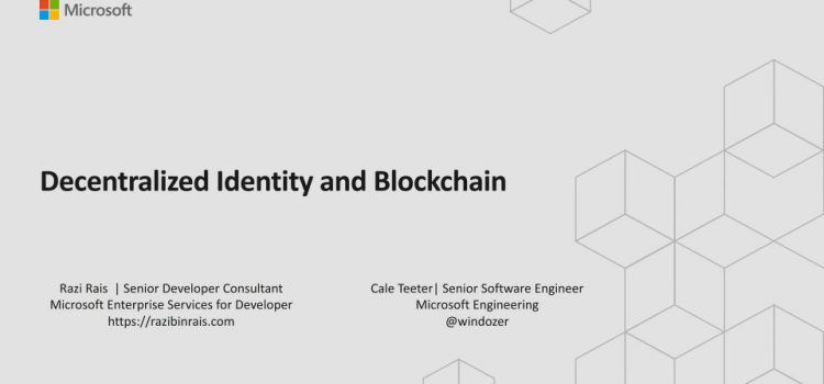 Decentralized Identity and Blockchain