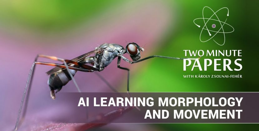 AI Learning Morphology and Movement Simultaneously