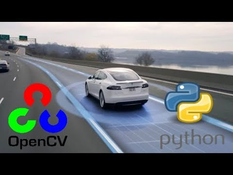 OpenCV Python Tutorial –  Lane Finding for Self-Driving Cars