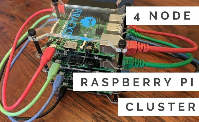 Building a 4-node Raspberry Pi Cluster