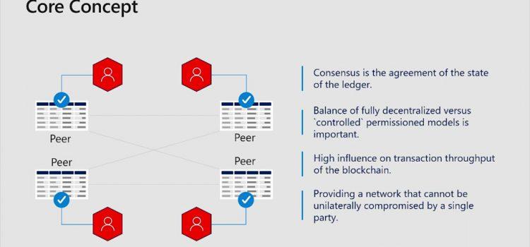 Consensus in Private Blockchains
