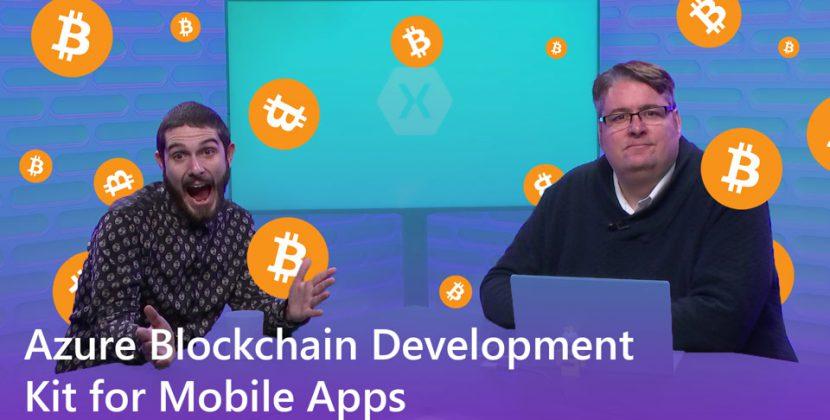 Azure Blockchain Development Kit for Mobile Apps