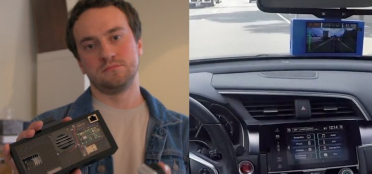 Can George Hotz Make Your Car Drive Itself for Under $1,000?
