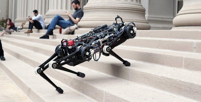 Vision-free MIT Cheetah Robot