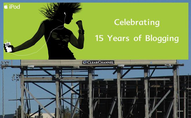 Celebrating 15 Years of Blogging