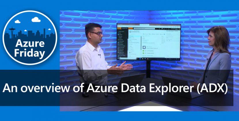 Overview of Azure Data Explorer