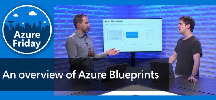 Overview of Azure Blueprints
