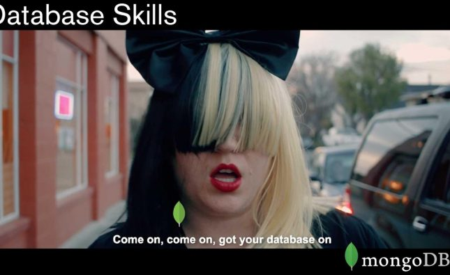 Database Skills–a Music Video