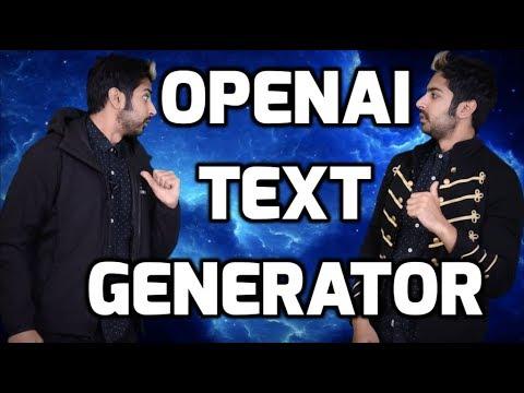 OpenAI Text Generator Controversy Explored