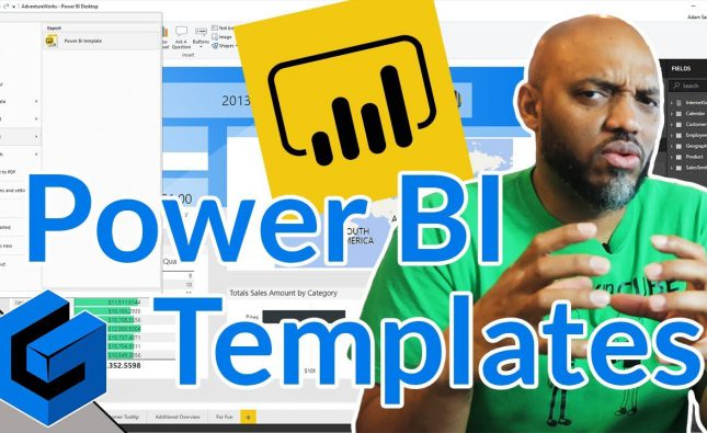 Create a Power BI Template file in Power BI Desktop