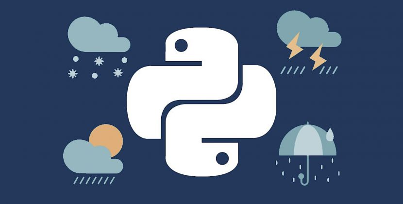 Using Python in Weather Forecasting
