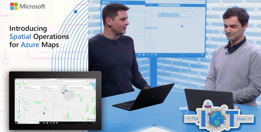 Introducing Spatial operations for Azure Maps