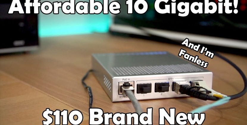 Affordable In-Home 10GbE Networking