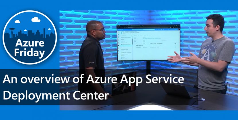 Overview of Azure App Service Deployment Center