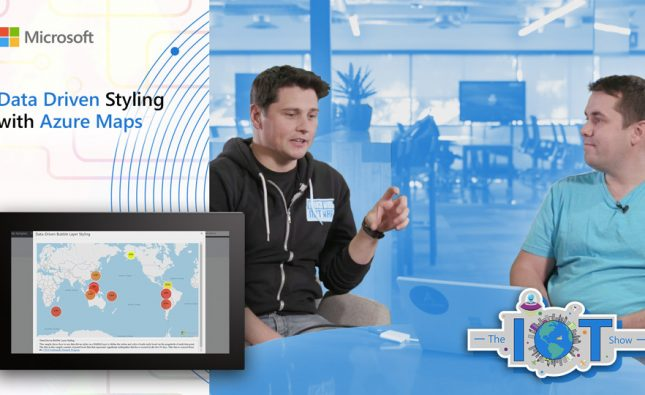 Data Driven Styling with Azure Maps