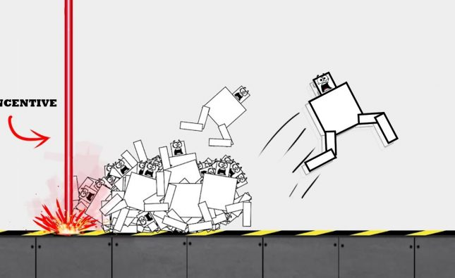 AI Learns to Walk