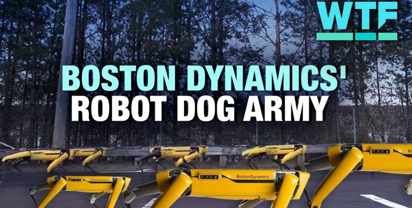 Robotic Dogs Go Into Production and Robots on Mars