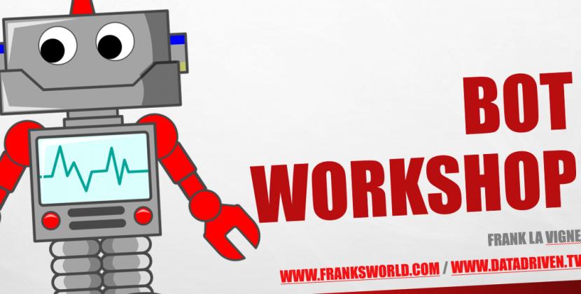 Chatbot Workshop