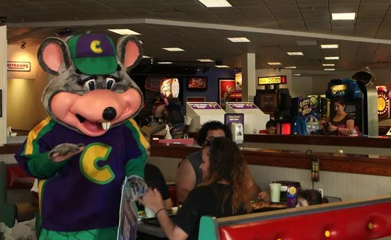Chuck E. Cheese is Watching You