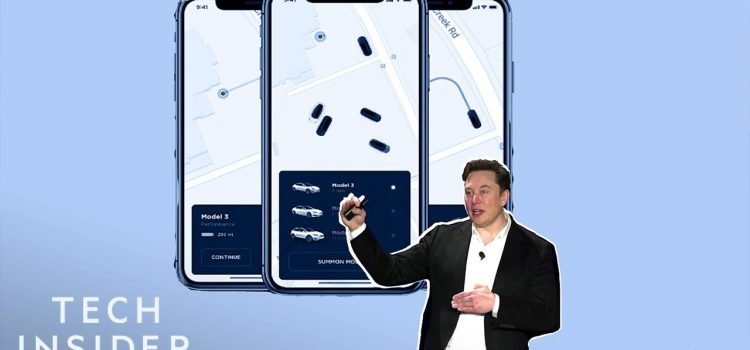 Elon Musk Unveils Plans For a Tesla Ride-Hailing App