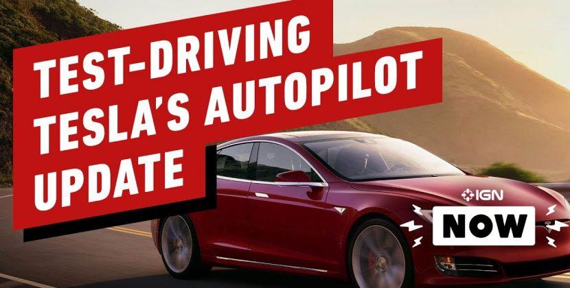 Test-Driving Tesla's Latest Autopilot Update