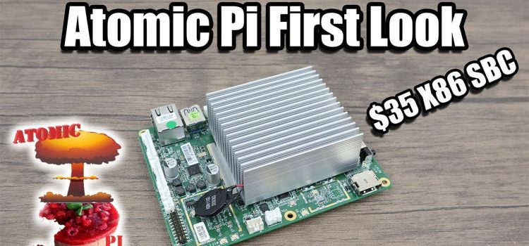 First Look at the Atomic Pi