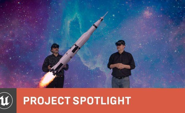 Apollo 11 HoloLens 2 Demo