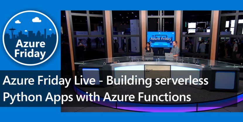 Building Serverless Python apps with Azure Functions