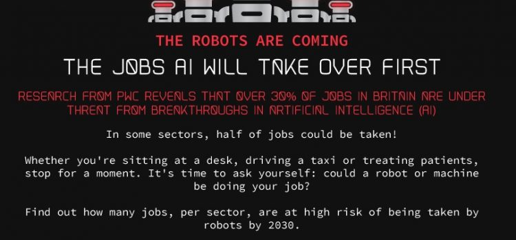 Jobs Artificial Intelligence Will Take Over First