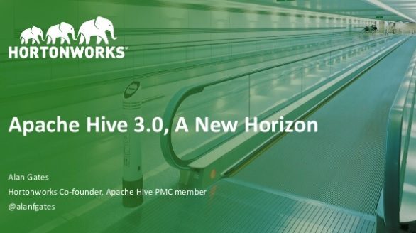What's in Hive 3.0?