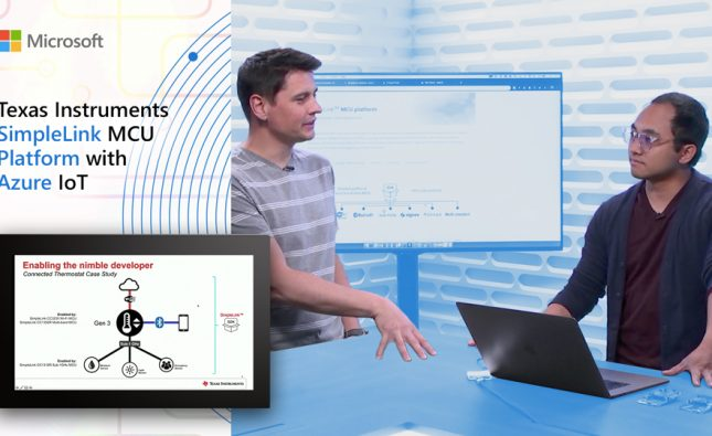 Texas Instruments SimpleLink MCU Platform with Azure IoT