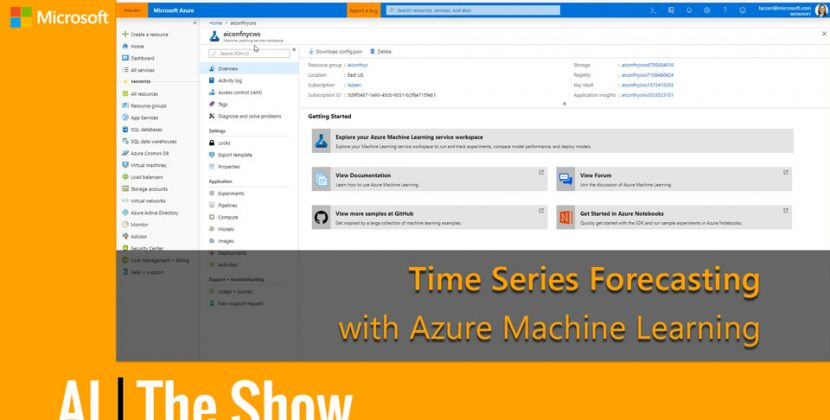 Time Series Forecasting with Azure Machine Learning