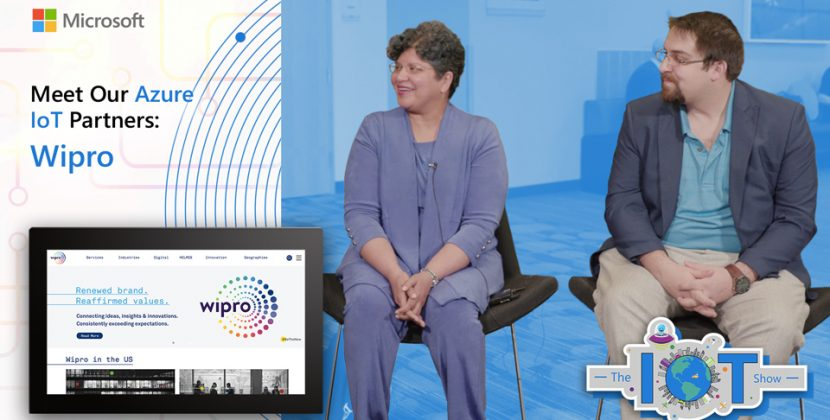 Wipro on the IoT Show
