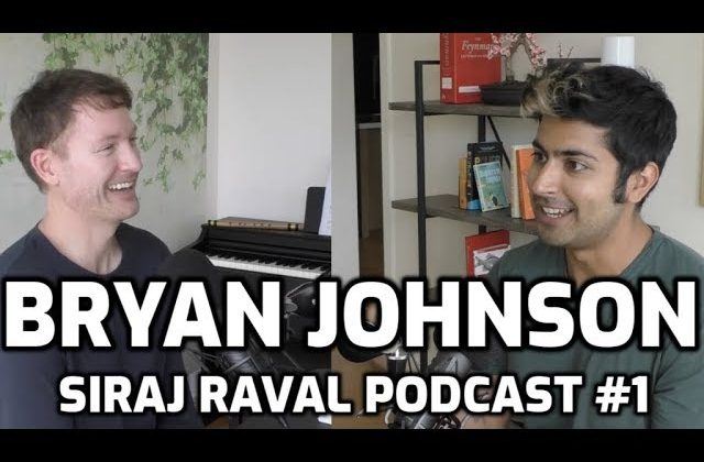 Siraj Raval Interviews Bryan Johnson