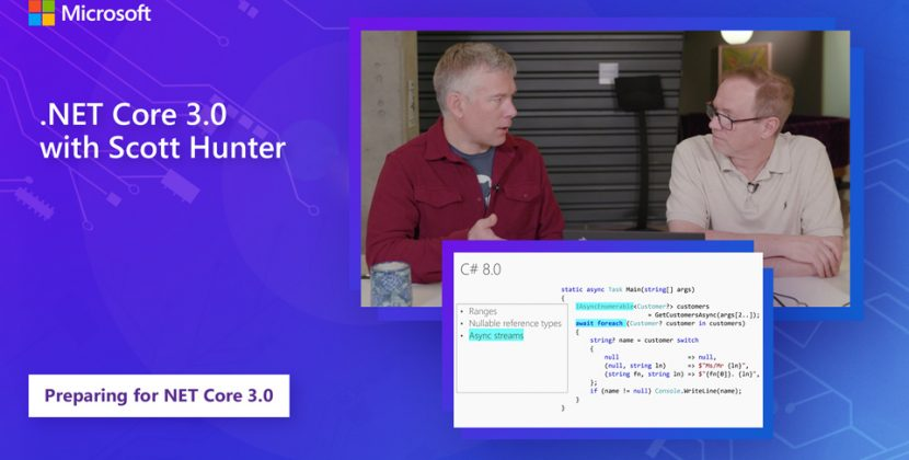 Learn About .NET Core 3.0 with Scott Hunter