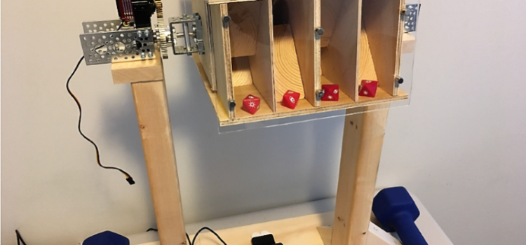 Automated Dice Tester Uses Machine Vision to Ensure A Fair Game